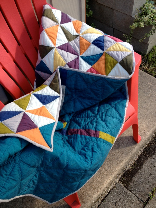Here's the finished quilt!