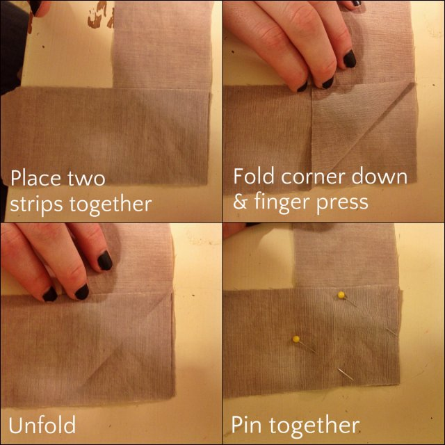 fold and pin binding strips