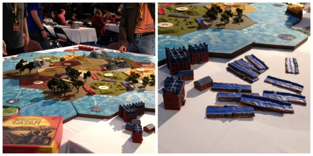 giant settler's of catan board