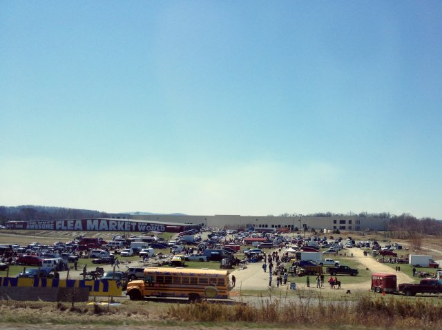 the most awesome flea market in the world