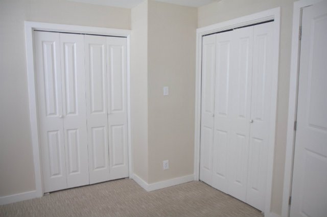 Two master closets.