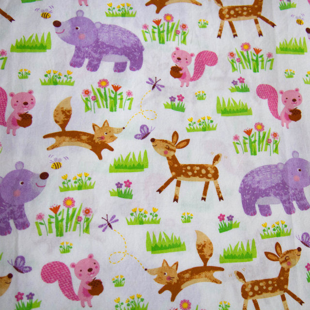 cute animal fabric