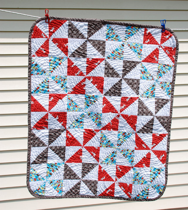 rounded quilt