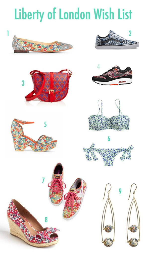 Liberty of London Wish List