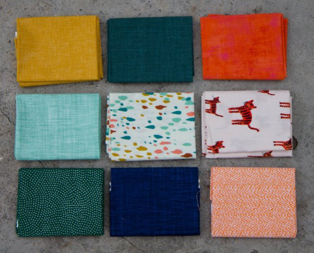 Fat Quarters from the International Quilt Festival