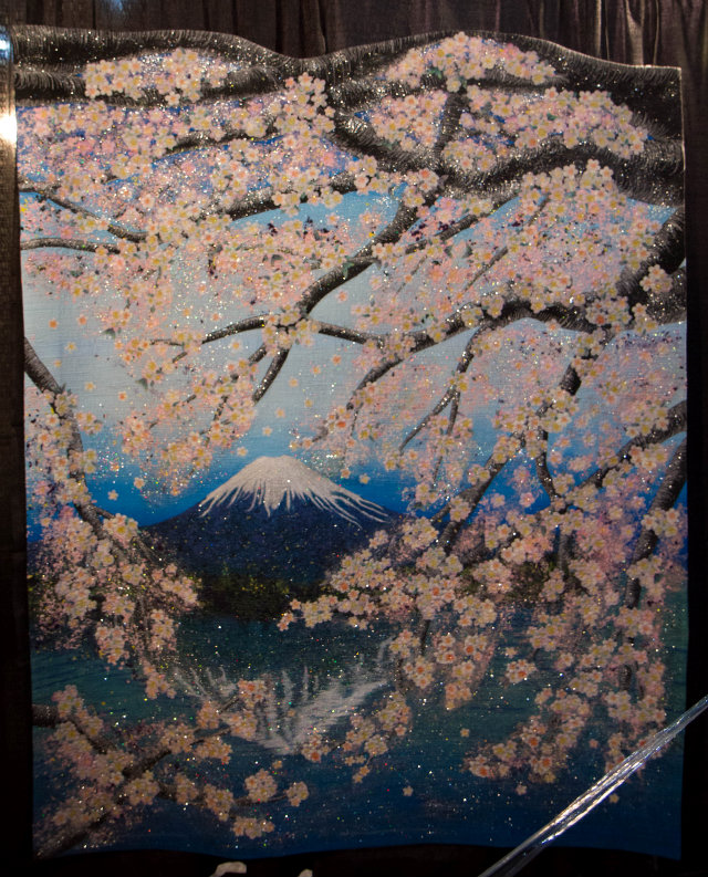Fuji and Sakura, by Masako Sakagami