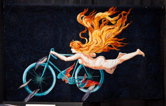 I Want to Ride my Bicycle, by Melissa Burdon