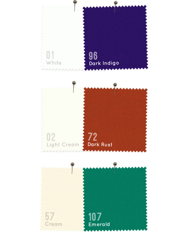 American Made Brand color tests
