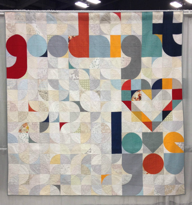 Quilt for Our Bed, by Laura Hartrich